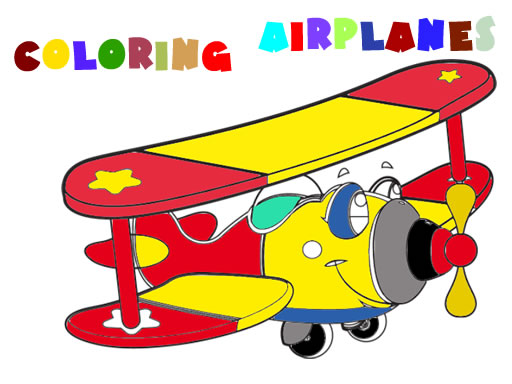 Coloring Book Airplane V 2.0 thumbnail