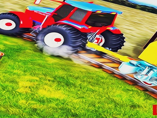 Heavy Duty Tractor Towing Train Games thumbnail