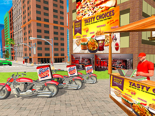 PIZZA DELIVERY BOY SIMULATION GAME thumbnail