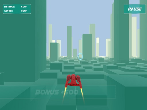 Thumbnail of jet racer game