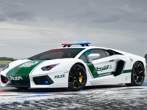 Police Cars Jigsaw Puzzle thumbnail