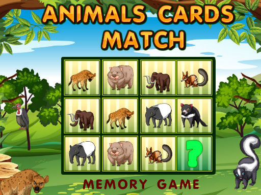 Animals Cards Match thumbnail