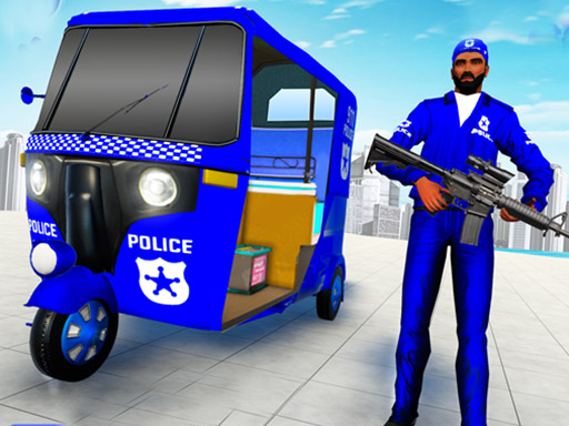 Thumbnail for Police Auto Rickshaw Taxi Game