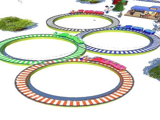 Lowpolly Train Racing Game  thumbnail