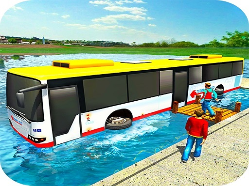 Floating Water Bus Racing Game 3D thumbnail