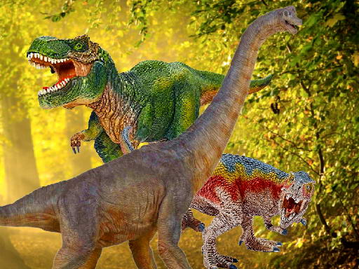 World of Dinosaurs Jigsaw thumbnail
