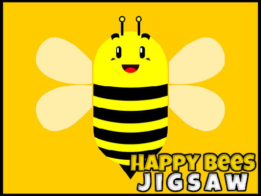 Happy Bees Jigsaw thumbnail