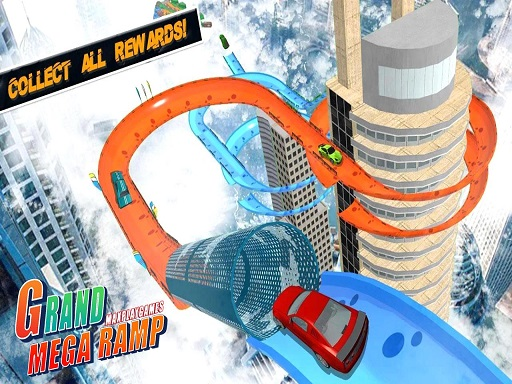 Mega Ramp Car Stunts Racing : Impossible Tracks 3D thumbnail