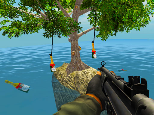 Thumbnail of Bottle Shooting Game
