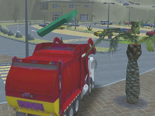 Thumbnail for Island Clean Truck Garbage Sim