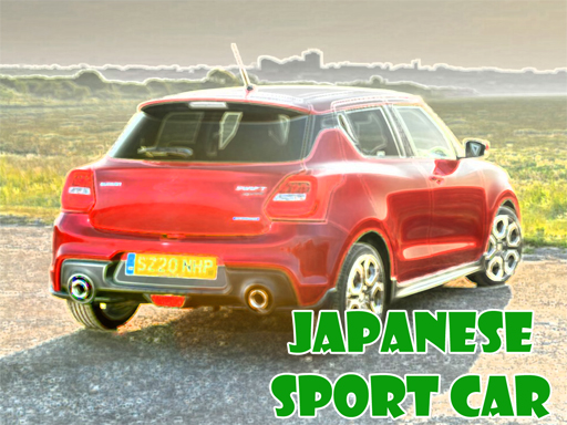 Japanese Sport Car Puzzle thumbnail