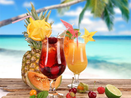 Summer Drinks Puzzle thumbnail