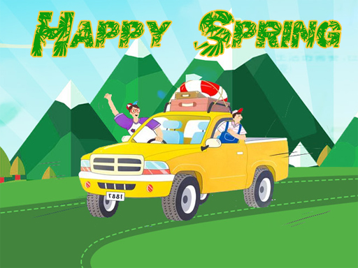 Happy Spring Jigsaw Puzzle thumbnail