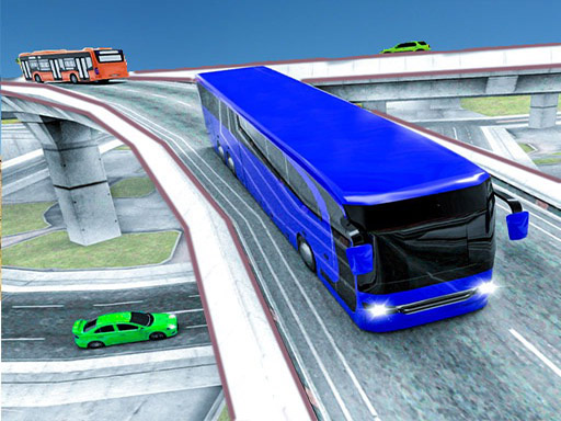 City Bus Racing Game thumbnail