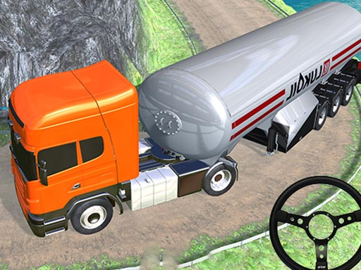 Thumbnail of off road Oil Tanker Transport Truck
