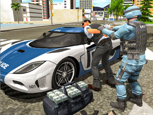 Thumbnail of Police cop driver simulator