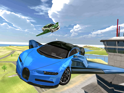 Ultimate Flying Car 3d thumbnail