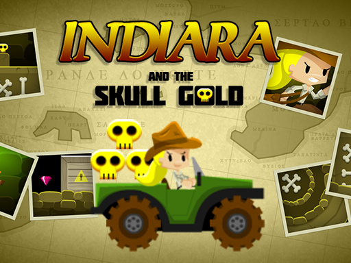Thumbnail of Indiara and the skull gold