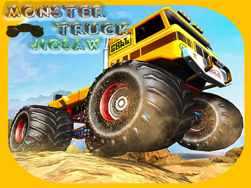 Monster Trucks Jigsaw thumbnail