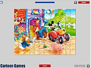 Thumbnail of Mickey Mouse Jigsaw Game