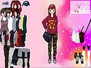 Thumbnail of Korean Girl Dress Up