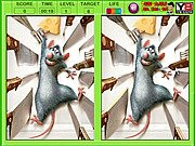 Thumbnail of Ratatouille Spot The Difference