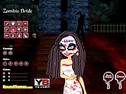 Thumbnail of Zombie Bride Dressup
