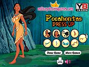Thumbnail of Pocahontas Dress Up Game