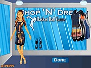 Thumbnail of Shop N Dress Basket Ball Game: Beach Dress