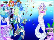 Thumbnail of Sea Girl Dressup