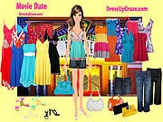Thumbnail of Movie Date Dressup