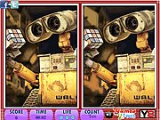 Thumbnail of 10 differences Wall E