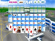 Thumbnail of Happy Flight Solitaire