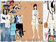 Thumbnail of Shopping Girl Dress Up