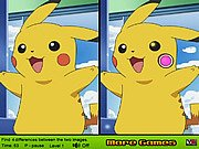 Thumbnail of Pikachu Find Difference