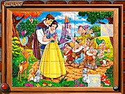Thumbnail of Sort My Tiles Snow White and the Seven Dwarfs