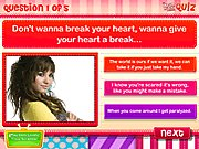 Thumbnail of Demi Lovato Lyric Quiz
