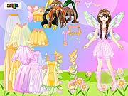 Thumbnail of Pink Fairy Dressup