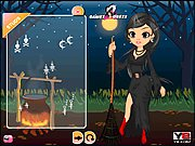 Thumbnail of Beautiful Witch Dress Up