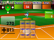 Thumbnail of Batters Up Base Ball Math - Addition Edition