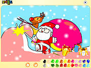 Thumbnail for Santa Claus Painting