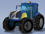 Thumbnail of Futuristic Tractor Racing