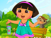 Thumbnail of Cute Dora Dress Up