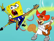 Thumbnail of SpongeBob the Rock Star Puzzle
