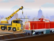 Thumbnail of Railroad Crane Parking 2