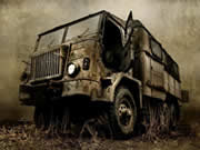 Old MIlitary Truck Jigsaw thumbnail