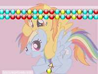 Thumbnail of Rainbow Dash and Spitfire Bubble