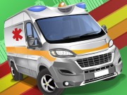 Thumbnail of Emergency Van Jigsaw Puzzle