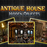 Thumbnail of Antique House - Hidden Objects
