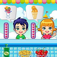 Thumbnail of Ice cream maker game
